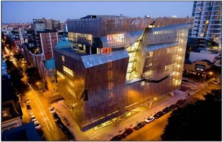 پاورپوینت مدرسه معماری کوپر یونیون نیویورک